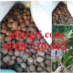Giá thể trồng lan Viên nén đất nung