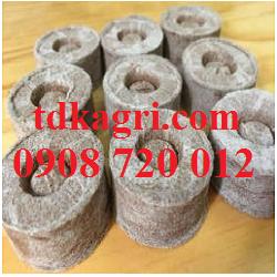 Giá thể trồng lan Viên nén xơ dừa 1