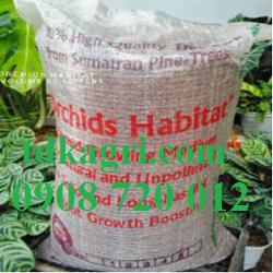Giá thể trồng lan vỏ thông Habitat Indonesia 1