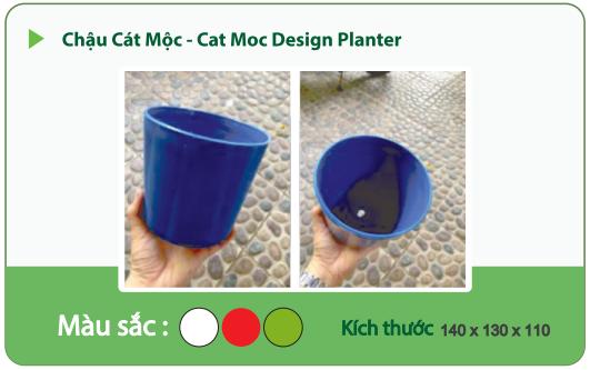 Chậu nhựa trồng cây CHẬU CÁC MỘC