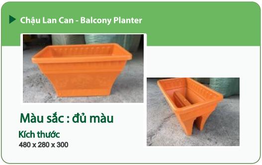 Chậu nhựa trồng cây CHẬU LAN CAN