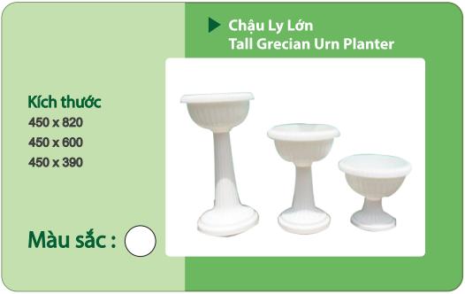 Chậu nhựa trồng cây CHẬU LY LỚN