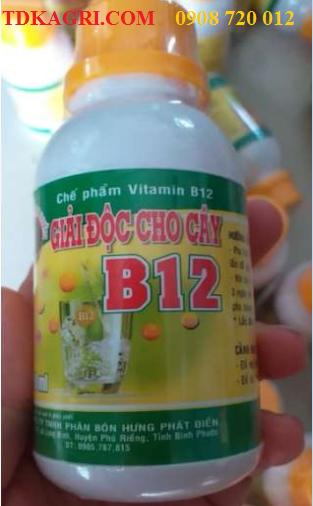 Chế phẩm giải độc cho cây VITAMIN B12
